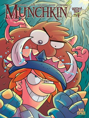 cover image of Munchkin (2015), Issue 4