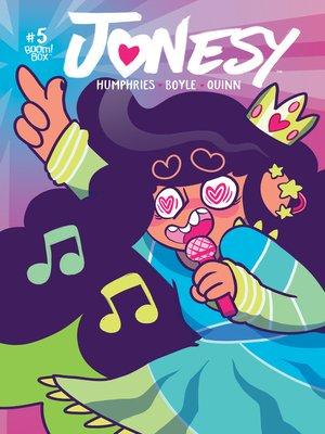 cover image of Jonesy (2016), Issue 5