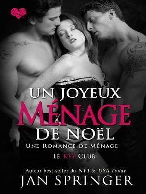 cover image of Un joyeux ménage de Noël