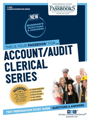 cover image of Account/Audit Clerical Series