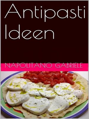 cover image of Antipasti Ideen