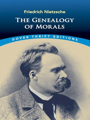 cover image of The Genealogy of Morals