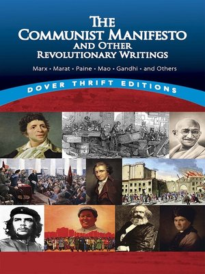 cover image of The Communist Manifesto and Other Revolutionary Writings