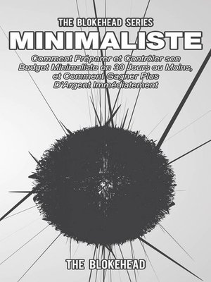 cover image of Minimaliste