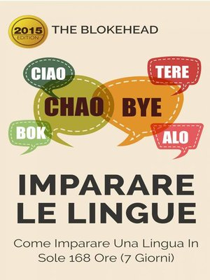 cover image of Imparare le lingue