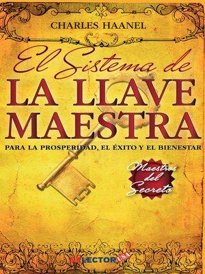 cover image of Sistema de la llave maestra