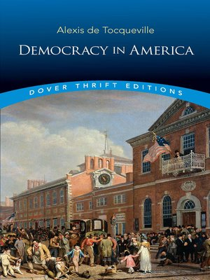 cover image of Democracy in America