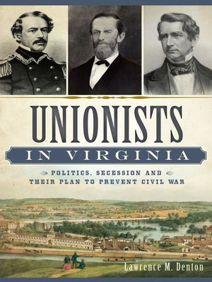 cover image of Unionists in Virginia