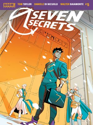cover image of Seven Secrets, Issue 5