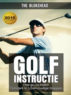 cover image of Golfinstructie