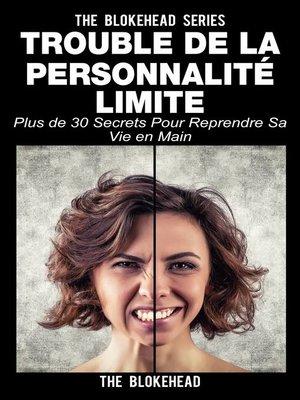 cover image of Trouble de la personnalité limite
