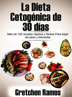 cover image of La Dieta Cetogénica de 30 días