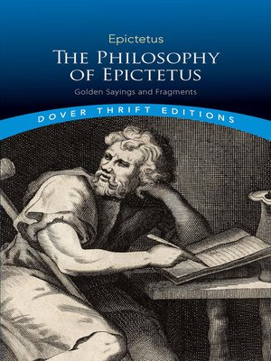 cover image of The Philosophy of Epictetus