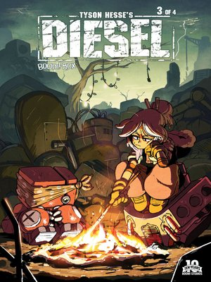 cover image of Tyson Hesse's Diesel (2015), Issue 3