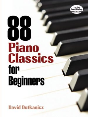 cover image of 88 Piano Classics for Beginners