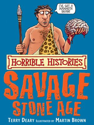 cover image of Horrible Histories: Savage Stone Age