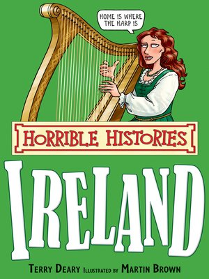 cover image of Horrible Histories: Ireland