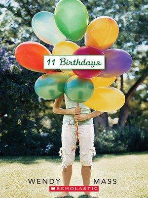 cover image of 11 Birthdays