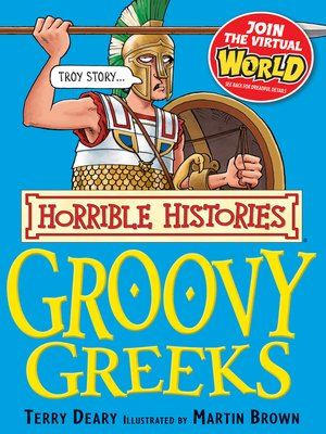 cover image of Horrible Histories: Groovy Greeks
