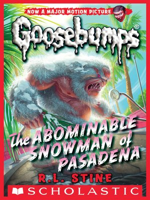 cover image of The Abominable Snowman of Pasadena