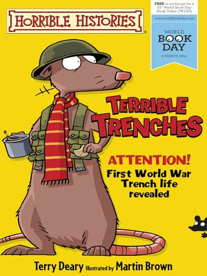 cover image of Horrible Histories: Terrible Trenches
