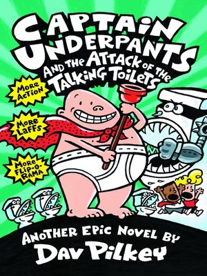 cover image of Captain Underpants and the Attack of the Talking Toilets
