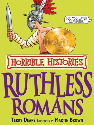 cover image of Horrible Histories: Ruthless Romans