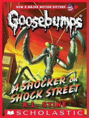 cover image of A Shocker on Shock Street