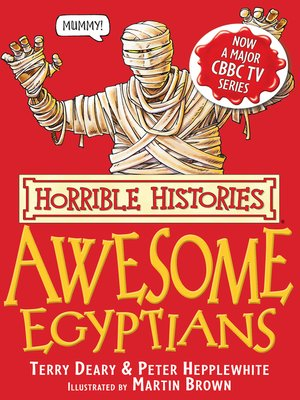 cover image of Horrible Histories: Awesome Egyptians