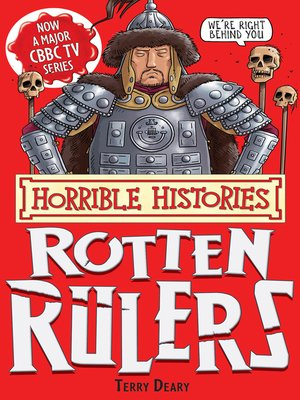 cover image of Horrible Histories: Rotten Rulers