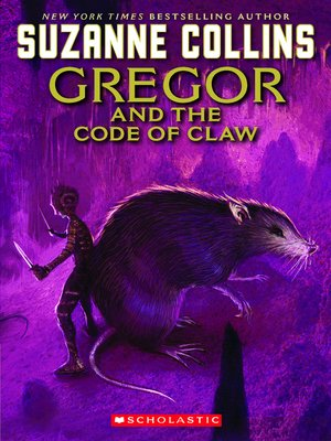 cover image of Gregor and the Code of the Claw