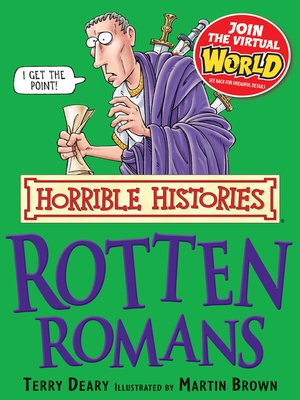 cover image of Horrible Histories: Rotten Romans