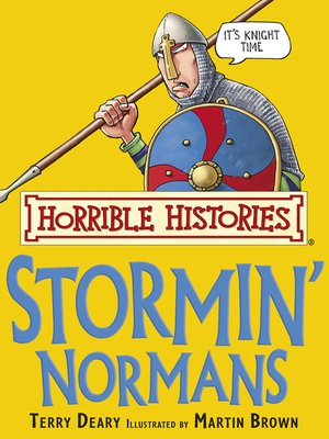 cover image of Horrible Histories: Stormin' Normans