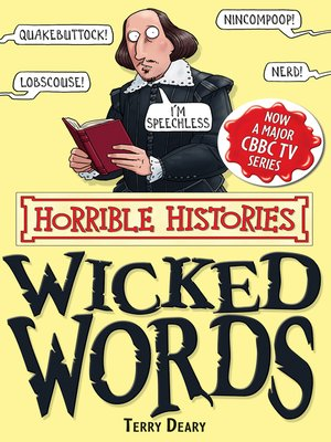 cover image of Horrible Histories: Wicked Words