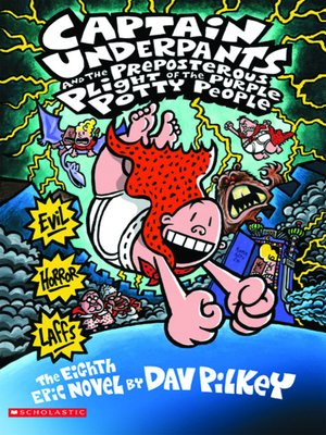 cover image of Captain Underpants and the Preposterous Plight of the Purple Potty People