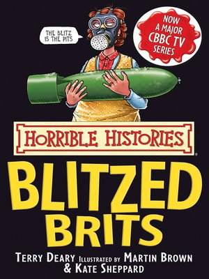 cover image of Horrible Histories: Blitzed Brits