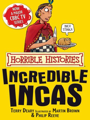 cover image of Horrible Histories: Incredible Incas