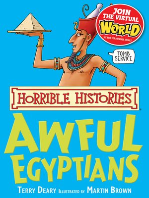cover image of Horrible Histories: Awful Egyptians