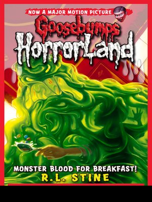 cover image of Monster Blood for Breakfast!
