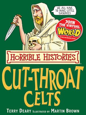 cover image of Horrible Histories: Cut-throat Celts