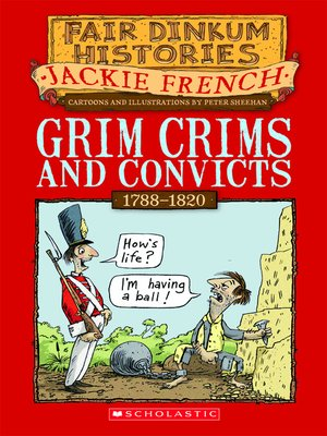 cover image of Grim Crims and Convicts
