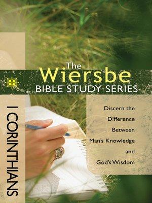 cover image of 1 Corinthians