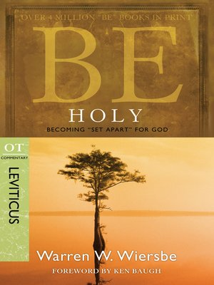 cover image of Be Holy