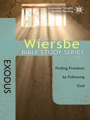 cover image of The Wiersbe Bible Study Series: Exodus