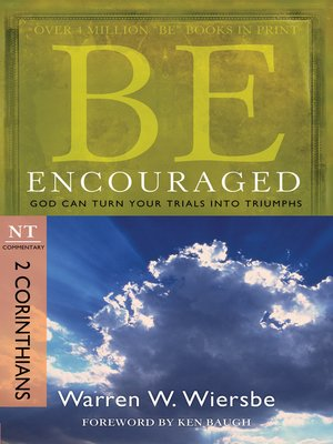 cover image of Be Encouraged