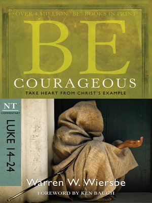 cover image of Be Courageous