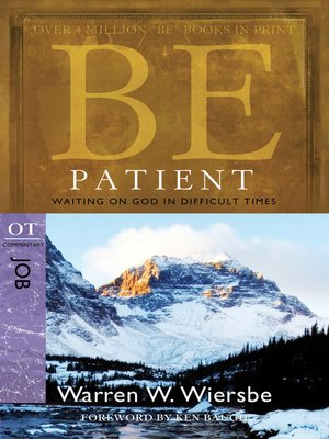 cover image of Be Patient