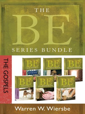 cover image of The BE Series Bundle, The Gospels