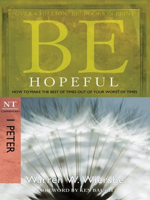 cover image of Be Hopeful