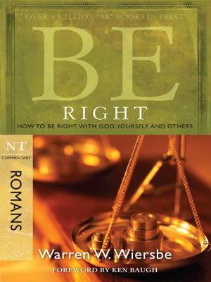 cover image of Be Right